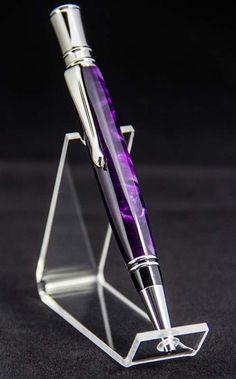 Amethyst Silk Executive Design Acrylic Ballpoint Pen