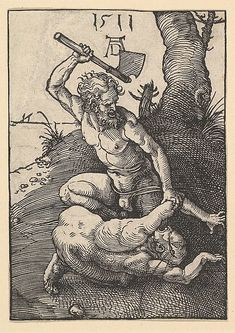 Albrecht Dürer | Cain Killing Abel | The Met