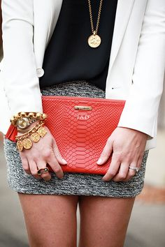 This awesome blogger is showcasing the embossed python all in one bag that we showcased in our Top Corporate Gifts of 2013 Board.