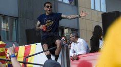 Barcelona con los campeones de Liga | FC Barcelona