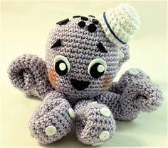 En este vídeo os traigo el patrón de un pulpo marinero amigurumi, es de nivel principiante, muy bien explicado paso a paso, para que no... Crochet Bookmarks, Projects To Try, Crochet Patterns, Beanie, Knitting, Hats, Animals, Montessori, Blog