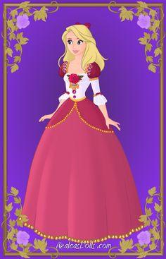 Disney Barbie Princess: Genevieve by Saeryena on DeviantArt