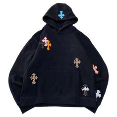 Cute Swag Outfits, Retro Outfits, Chrome Hearts Hoodie, Couture, Types Of Fashion Styles, Custom Clothes, Aesthetic Clothes, Street Wear, Fashion Outfits