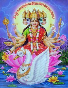 Goddess+Gayatri+Maa