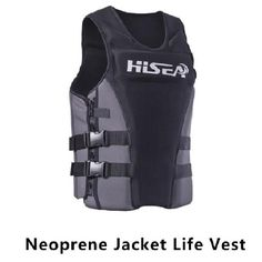Neoprene Surfing Floating Life Vest Rafting Snorkeling PFD Inflatable Kids/Women/Men Life Jacket Swimwear Swimming jacket Life