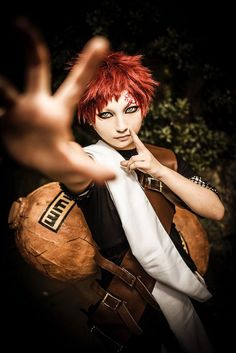 Gaara from Naruto - COSPLAY IS BAEEE! Tap the pin now to grab yourself some BAE Cosplay leggings and shirts! From super hero fitness leggings, super hero fitness shirts, and so much more that wil make you say YASSS! Gaara Cosplay, Cosplay Anime, Epic Cosplay, Male Cosplay, Amazing Cosplay, Cosplay Outfits, Cosplay Ideas, Boruto, Naruto Shippuden