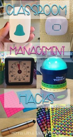 Need some fresh ideas for beefing up your classroom management? Read about what… Need some fresh ideas for beefing up your classroom management? Read about what has worked in my and grade classrooms! Doorbells, visual timers, sticker charts, oh my! Classroom Hacks, First Grade Classroom, New Classroom, Primary Classroom, Classroom Timer, 2nd Grade Teacher, Classroom Resources, Classroom Ideas For Teachers, Classroom Control