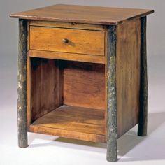 Flat Rock Furniture Berea 1 Drawer #Nightstand #rusticfurniture   http://www.santaferanch.com/
