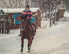 Horse rider by Michael Moyseyanchik