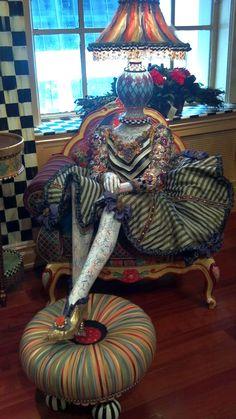 MacKenzie-Childs mannequin display, Feb. 2012 #NYC