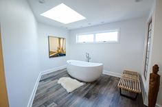 Bathroom Remodel - Bathroom Makeover - Brought to you by Re-Bath of the Triangle - Asian Themed Bathroom - Tranquil Shower - Freestanding Tub - Oversized Tub - Asian Decor -