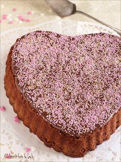 Cuore di Nutella e cioccolato per San Valentino Dulcisss in forno by Leyla