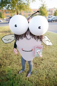 book character costume fly guy  halloween costume