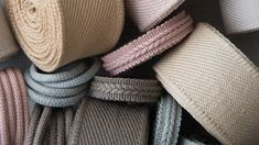 The Flanders collection from Samuel and Sons tells a comprehensive color story through its naturally inspired passementerie, woven of the finest linen yarns. Samuel And Sons, Passementerie, Color Stories, Yarns, Inspiration, Collection, Inspired, Biblical Inspiration, Cable Knitting
