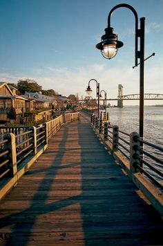 Wilmington - North Carolina (where One Tree Hill and Dawson's Creek was filmed)