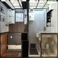 Apartment Living Room Design Tiny House 30 Ideas For 2019 Tiny House Living Room Apartment Design House Ideas living room Tiny Studio Apartment Floor Plans, One Room Apartment, Studio Apartment Layout, Studio Layout, Small Apartment Design, Studio Apartment Decorating, Small Apartments, Small Apartment Plans, Studio Floor Plans