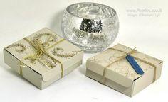 Stampin' Up! Demonstrator Pootles - Elegant Gold Embossed Box using Star of…