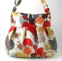 splash of colours, handmade bag