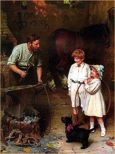 As Good as Ever    | art by SIR ARTHUR J. ELSLEY (1860-1952)