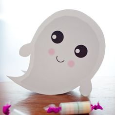 Halloween Printable Ghost Treat Boxes from Nexttonicx.com