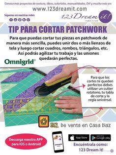 Para agilizar tus proyectos de patchwork aquí te dejamos este sencillo pero útil tip.