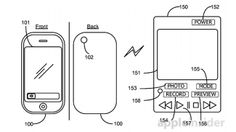 Apple patents fancy remote control for iPhone camera