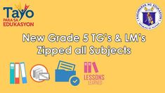 Grade 5 Teacher's Guides and Learner's Materials (All Subjects, Teacher Lesson Plans, Teacher Resources, Bullying Bulletin Boards, High School Seniors, Lessons Learned, Reading Comprehension, Display Boards, Teaching, How To Plan