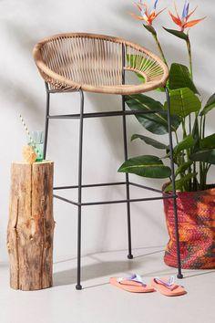 whkmp's own barkruk Lagos , Bruin Bamboo Store, Maine House, Bar Stools, Sweet Home, Interior, Furniture, Home Decor, Bali, Kitchen