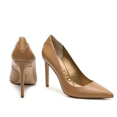 729d46f111f40 Sam Edelman Dea Leather Pump Leather Pumps, Other Accessories, Peep Toe,  Shoe Boots