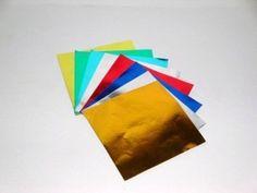 papel glace metalizado