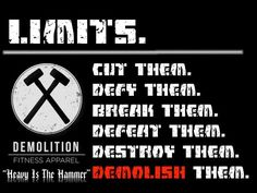 Facebook.com/demolitionfitnessapparel