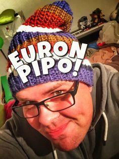 Säästä parturikäynneissä koko talvi! EURON PIPO! JA EI TYYLIÄ PUUTU! #katseenvangitsija #pipo #euronpipo #lottovoittosyntyäsuomeen