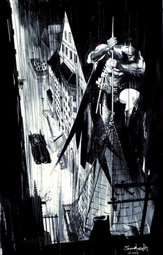 Batman by Sean Murphy. If Murphy were the only person allowed to draw Batman, I'd be completely fine with that.