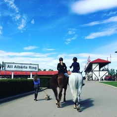 "theplaidhorsemag: "" Good morning @spruce_meadows  """
