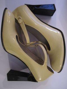 MIU MIU F/W patent leather block heels