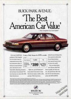 1992 Buick Park Avenue Sedan