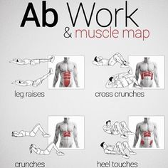 Try introducing some of these exercises into your next ab workout! #fitness #exercise #workout #training #health #fitfam #instafit #instahealth #fitspo #abs #sixpack #weightloss #motivation...