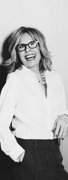 Diane Keaton - when I get older I hope to have as much style as she does, simply amazing