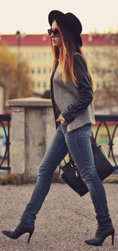 #Gray And #Jeans by Furious Squirrel