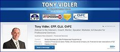 Tony Vidler On Linked In *~ If You're On Linked In Then You Should Read This *~