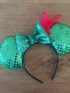 Peter pan themed minnie ears