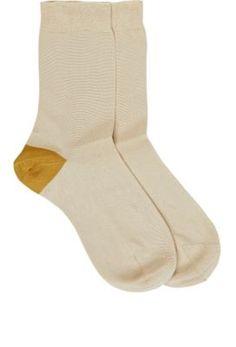b4a6cb4ec71 Maria La Rosa Crew Socks at Barneys New York Designer Socks
