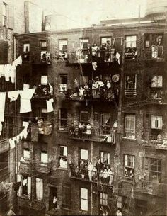 new york 1800's - lower east side tenements