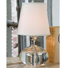 Crystal Oval Mini Lamp - Regina Andrew Design | Luxe Home Philadelphia