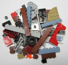 50+ LEGO Original Pieces Bulk Washed and Sanitized NEW (BK21)