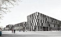 Auer Weber Architekten BDA » Projekte » Fachhochschule Campus Bielefeld