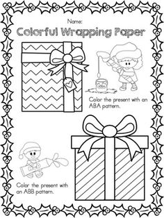 Christmas Wish List  Worksheets