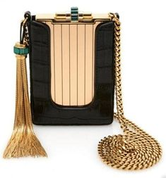 Gucci SS12 structured evening case. Exquisite!! More than beign just a bag, this is a work of art. Wearable ART! Absolutely GORGEOUS!! My kind of evening bag. ♥