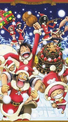 Funny Christmas Decoration/Pillowcase One Piece Japanese Comic- Custom Personalized Pillowcase/ Rectangle Pillow Cover Cases With Comfortable Decorative Cotton and Polyester Standard side) Christmas Colors, Christmas Art, Christmas Humor, Sanji One Piece, One Piece Anime, Noragami, Manga Anime, Personalized Pillow Cases, Another Anime