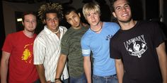 """Early boy band O-Town is staging a big reunion, but for the former group members, it's far from all or nothing at all. The """"Making the Band"""" musici. Ashley Angel, Secretly Married, O Town, Making The Band, Taylor Hanson, Nick Carter, Backstreet Boys, Boy Bands, Comebacks"""